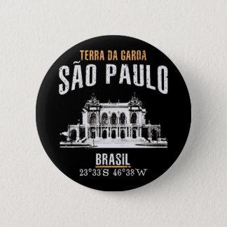 São Paulo 2 Inch Round Button