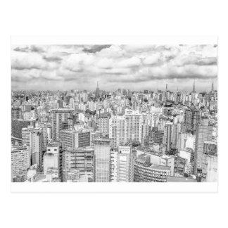 Sao Paulo, Brazil Postcard