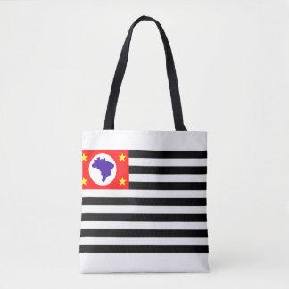 Sao Paulo city flag brazil symbol Tote Bag