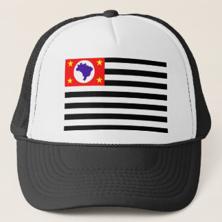 Sao Paulo city flag brazil symbol Trucker Hat