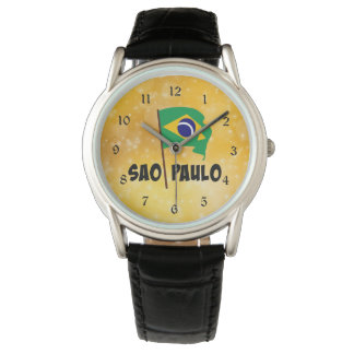 Sao Paulo, Flag of Brazil Watch