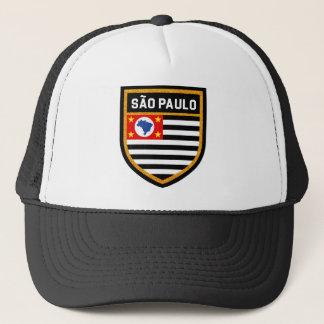 São Paulo Flag Trucker Hat