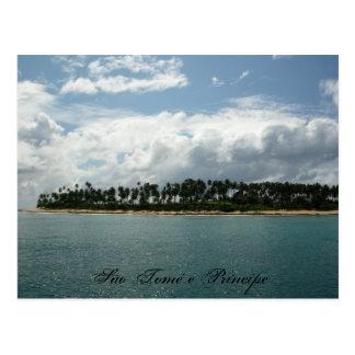 são tomé 4, São Tomé e Príncipe Postcard
