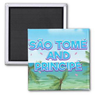 São Tomé and Principé beach Magnet