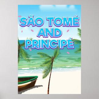 São Tomé and Principé beach Poster