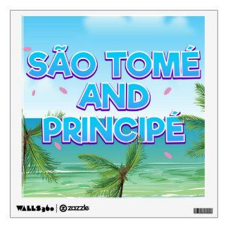 São Tomé and Principé beach Wall Decal