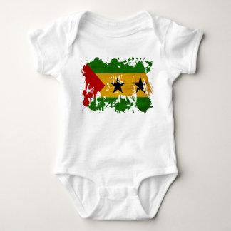 Sao Tome and Principe Flag Baby Bodysuit