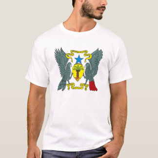 Sao Tome Principe Coat of Arms T-shirt