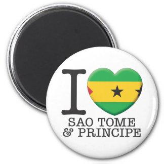 Sao Tome Principe Magnet