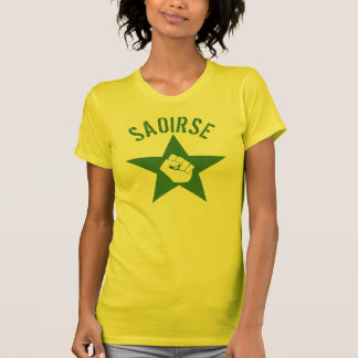 Saoirse Iirsh Republican Army Logo T-Shirt