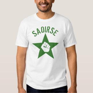 Saoirse Iirsh Republican Army Logo Tshirt