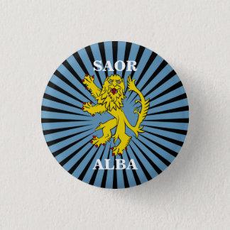 Saor Alba Lion Rampant Scotland Pinback 1 Inch Round Button