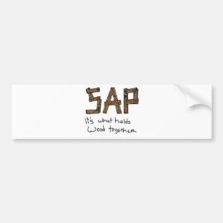 SAP BUMPER STICKER