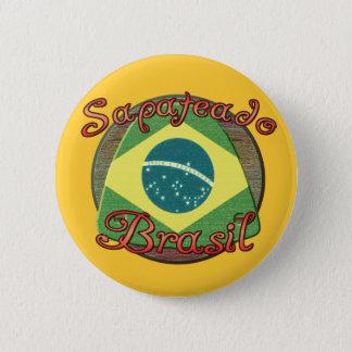 Sapateado Brasiliero 2 Inch Round Button