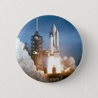 Sapce Shuttle Launch 2 Inch Round Button
