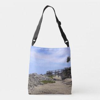 Sapelo Island Beach Crossbody Bag