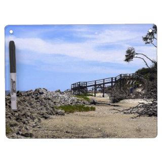 Sapelo Island Beach Dry Erase Whiteboard