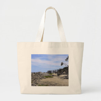 Sapelo Island Beach Large Tote Bag