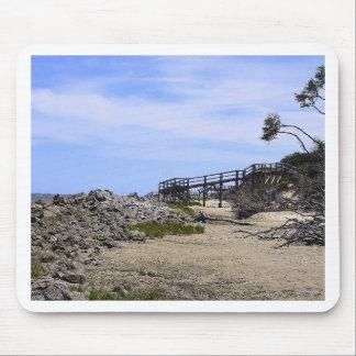 Sapelo Island Beach Mouse Pad