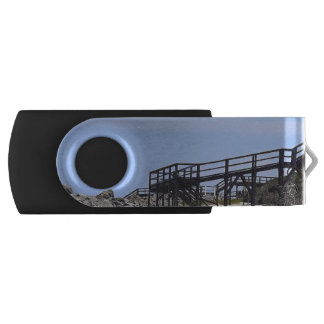 Sapelo Island Beach Swivel USB 2.0 Flash Drive