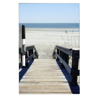 Sapelo Island View Dry-Erase Board