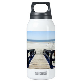 Sapelo Island View Insulated Water Bottle