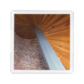Sapelo Staircase Acrylic Tray