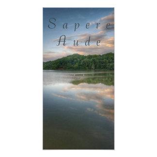 """Sapere Aude"" Quote Print"