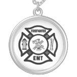 Sapeur-pompier EMT Bijouterie Personnalisée