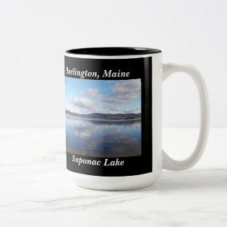 Saponac Lake Burlington, Maine Mug