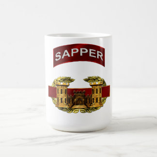 Sapper Combat Engineer Badge Coffee Mug