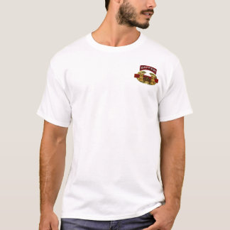 Sapper Tab w/ Combat Engineer Badge T-Shirt