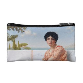 Sapphic Pride Cosmetics Bag (Godward's Sappho) Makeup Bags
