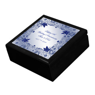 Sapphire 45th Wedding Anniversary Gift Box