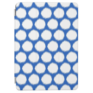 Sapphire Asian Moods Ikat Dots iPad Air Cover