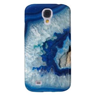 Sapphire Blue Agate Geode