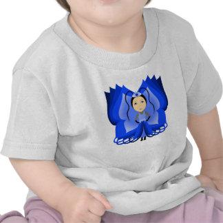Sapphire Butterfly Princess Tee Shirt