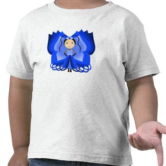 Sapphire Butterfly Princess Tee Shirts