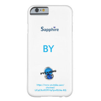 Sapphire By PVGAMING iPhone 6/6s case