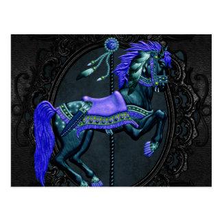Sapphire Carousel Postcard