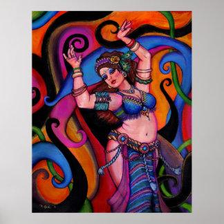 Sapphire Dancer Poster
