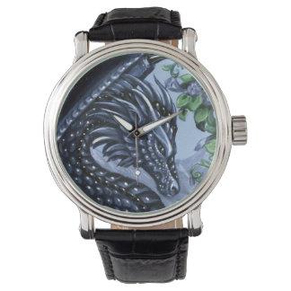 Sapphire Dragon Wrist Watch