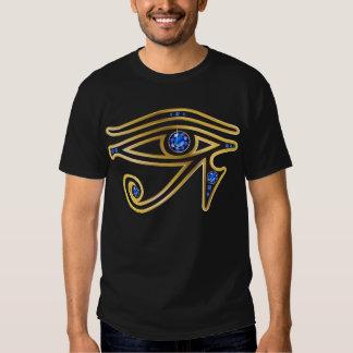 Sapphire Eye of Ra in Gold T-Shirt
