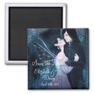 Sapphire Fairy Angel Save the Date Magnet
