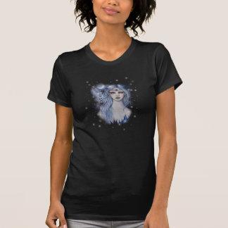 Sapphire Fairy Celestial Fantasy Art Tee Shirt