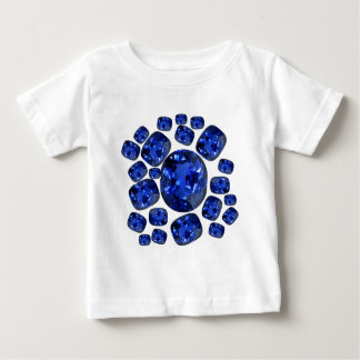 Sapphire Gems Birthstone gifts by sharles Baby T-Shirt
