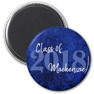 Sapphire Grad | Royal Cobalt Blue | Party Theme Magnet