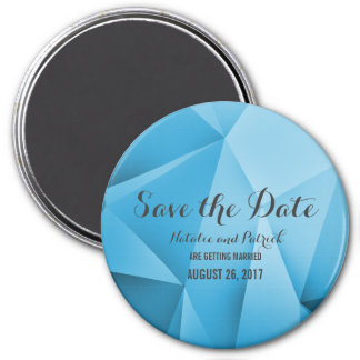 Sapphire Jewel Tones Save the Date Magnet