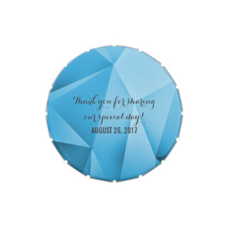 Sapphire Jewel Tones Wedding Candy Tin