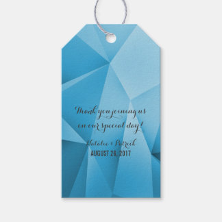 Sapphire Jewel Tones Wedding Gift Tags Pack Of Gift Tags